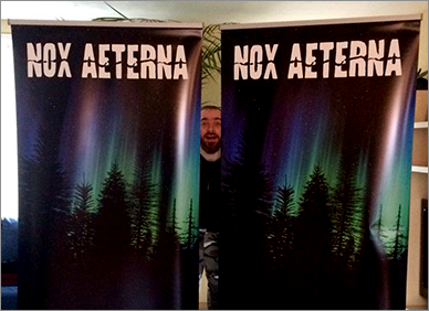 Nox Aeterna - New stage Banners