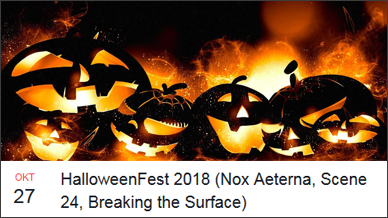 Nox Aeterna - 27 October 2018 HalloweenFest 2018