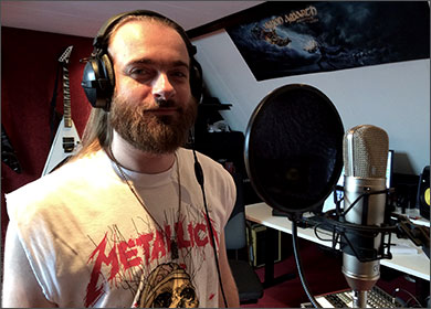 Nox Aeterna - Start recording vocals