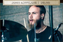 James Koppelaar - Drums